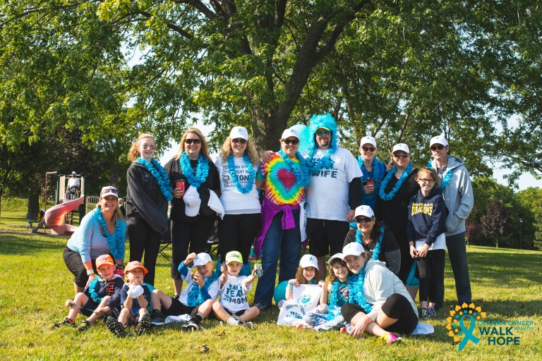 Ovarian Cancer Walk of Hope Hamilton Walk-6128