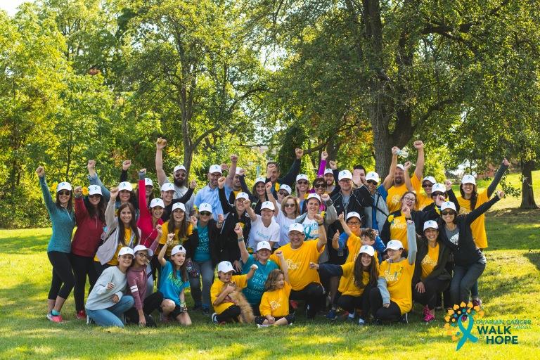 Ovarian Cancer Walk of Hope Hamilton Walk-6276