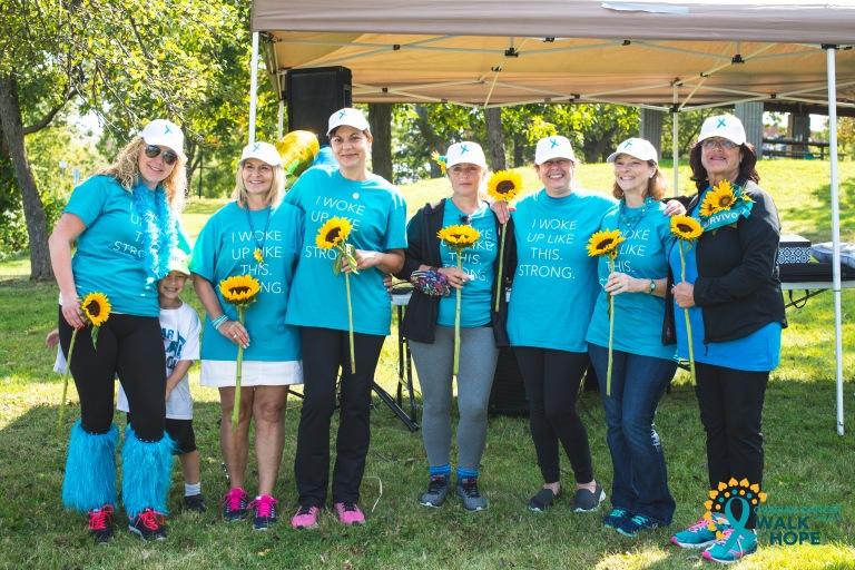Ovarian Cancer Walk of Hope Hamilton Walk-6302