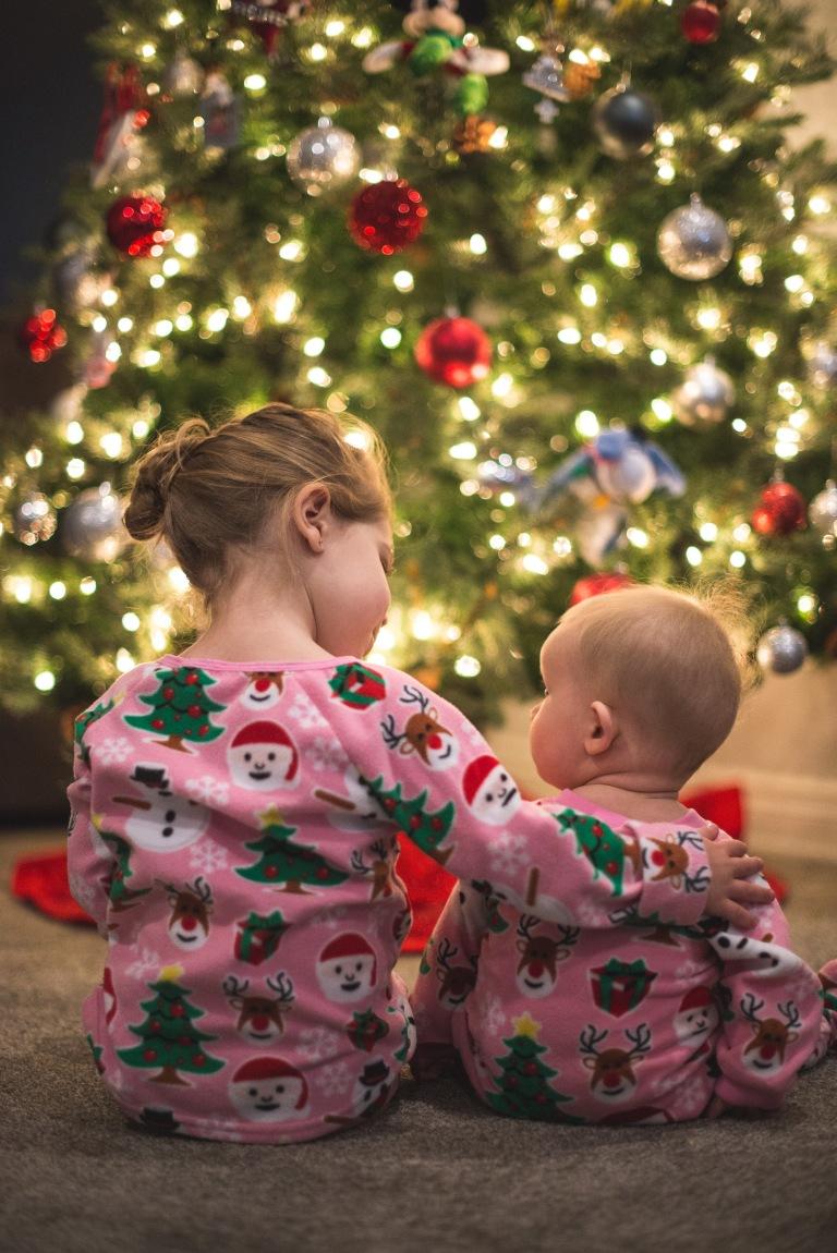 Lina and Aria Christmas 2017-7480